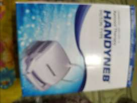 Handyneb - nebulizer, v.small and portable, can get fit in to a handba