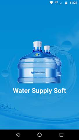 Mineral Water Supply Software