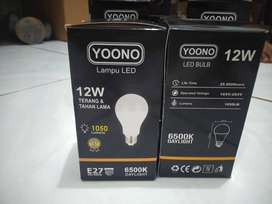 Lampu led yoono 12 watt original premium