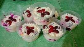 Salad buah bunsia