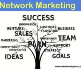 Marketing and sales job.