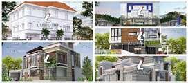 Jasa arsitek khusus rumah mewah di Kendari