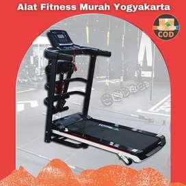 Treadmill Elektrik 3 Fungsi TL-607 Sleman / Treadmill Murah Jogja