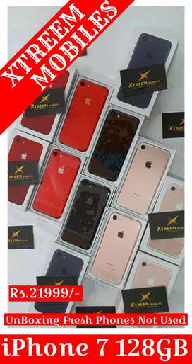 iPhone 7 128GB..Unboxing Fresh Phones Not Used..