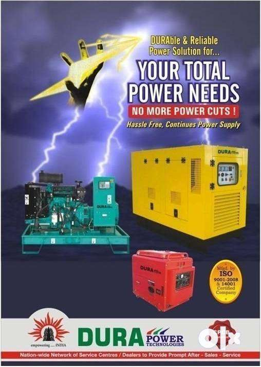 Silent Compact Size but Powerful Semi-open type Portable Generator Set 0
