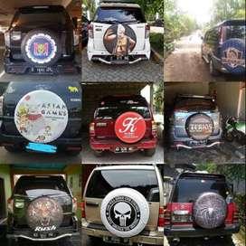 COVER Ban Serep Mobil Rush CVR Touring Vitara Jeep#wESTHamBlackHorse