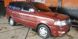 Toyota Kijang LGX Diesel - Merah