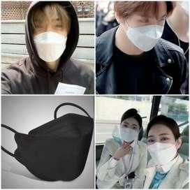 masker convex duckbill kn94 masker origami jepang masker korea