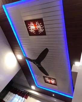 PVC .POP  Fall ceiling  interior decorator po