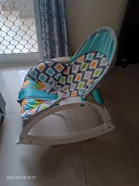 Kids Rocker chair convertible in excellent condition with box