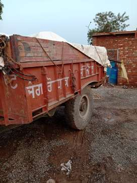 Eicher 241 for sale with trolley
