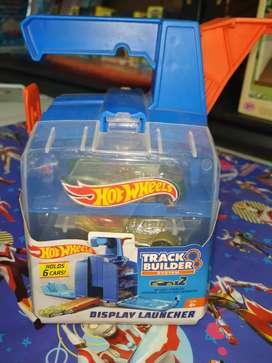 mainan anak hotwheels display launcher