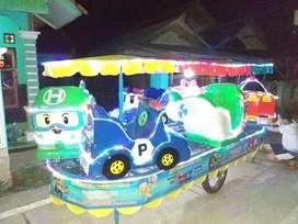 PROMO odong robotayo kereta panggung komedi safari pancingan elektrik