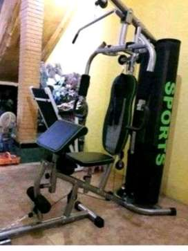 GALAXI sport ,home gym,black sport.