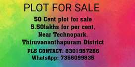 Plot for sale in trivandrum