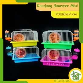 Kandang Hamster Lengkap Full Aksesoris | Kandang Hamster Murah | Kedai