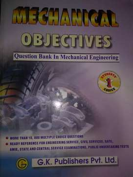 Book- Mechanical Engineering Objectives Questions