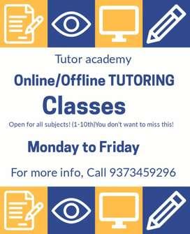 Online/ Offline TUTORING Classes