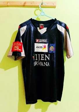 Jersey Baju bola merk City of Arema Size M fit L Kondisi barang Bagus