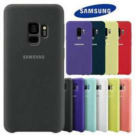 Casing Premium Silicone CASE Samsung S9 plus Colors Softcase Candy