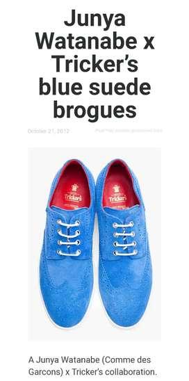 Sepatu Trikers England (kulit)