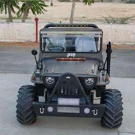 Stylish front modified jeep