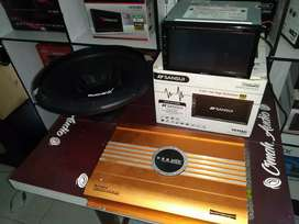 Dbeldin sansui DVD sa5202i+power ads&subwofer 12in