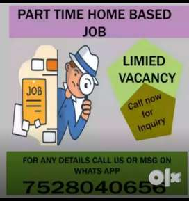 Hiring back office , data entry operator, call us