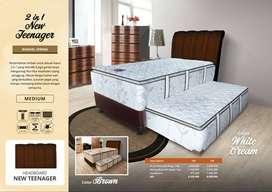 PROMO 12.12 BED DORONG PLEASURE 120 X 200 HARGA 3.600.000