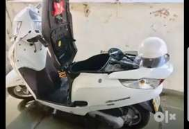Honda Aviator White colour mint condition top model