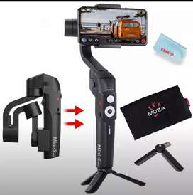 Moza mini S gimbal stabilizer for mobile phone