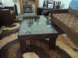 Center carved table available