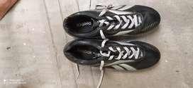 Branded football shoe