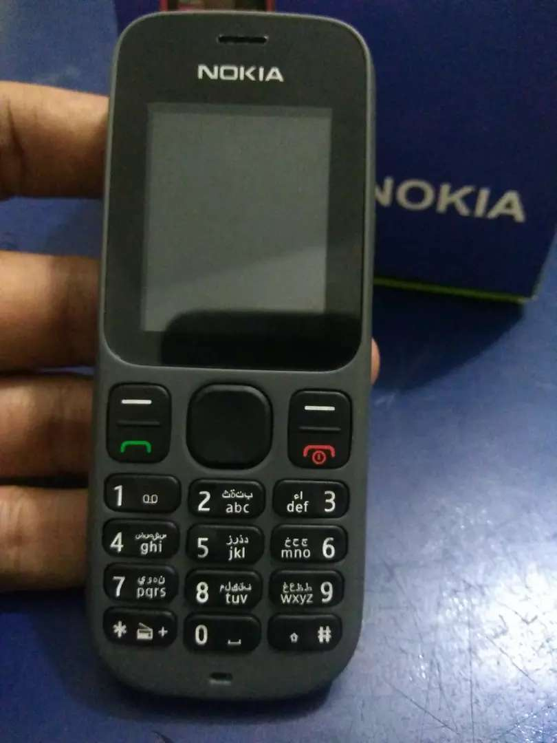 Nokia 101 PTA Approved Original Phone Box Pack With Free Delivery 0
