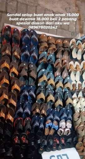 Sandal selop antito
