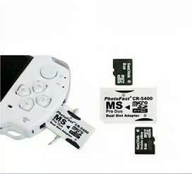 Photofast adapter dual memori psp