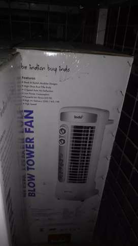 Info tower fan rs 2500 only