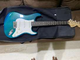 Fender squier strat electric guitar