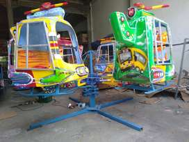 komedi putar helikopter odong kereta wahana pasar malam KERENN 11