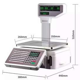 TMA digital weighing label or receipt scale