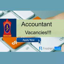 Vacancies for accountant job role part time/full time