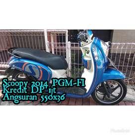 Scoopy PGM-FI 2014 Biru Mesin Nyuss Tenan