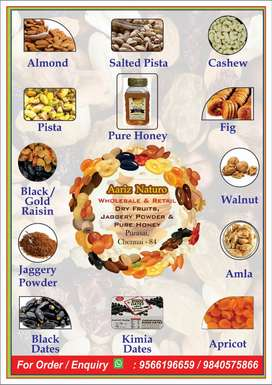 Dry Fruits& Nuts at Cheapest and Best Rate