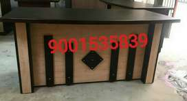 Newww front designer office table office furniture reception table .