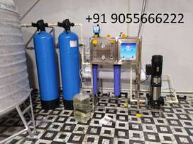1000 LPH RO Mineral Water Plant