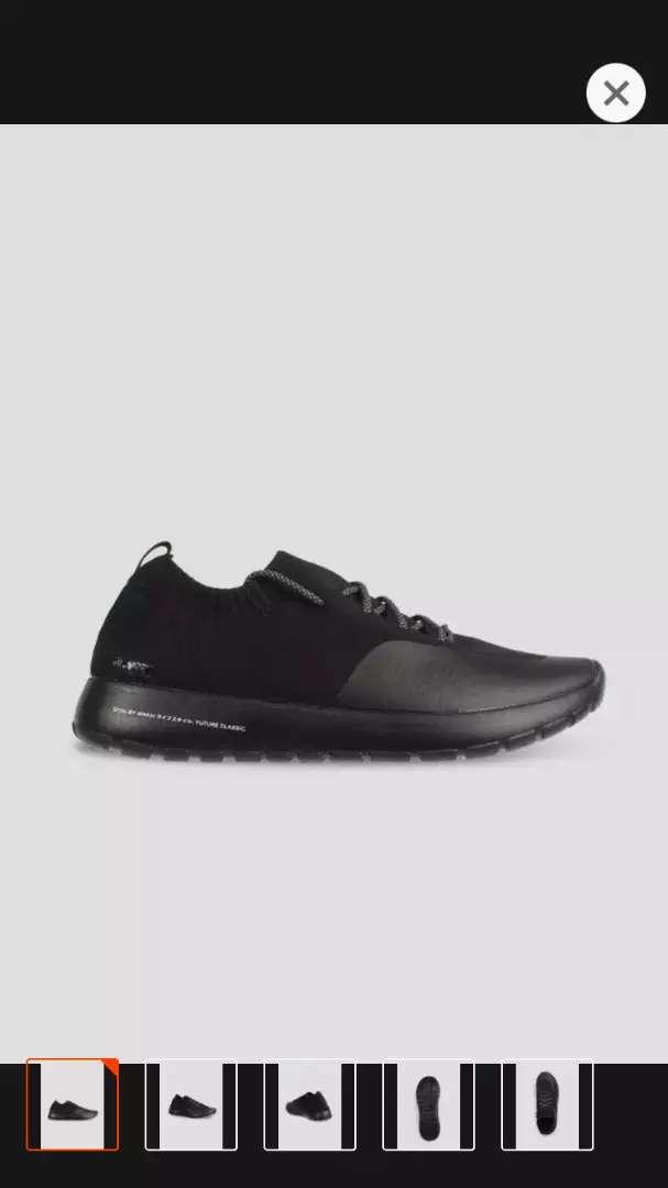 Termurah! Sepatu Wakai Gyou Black. 100% original dan baru 0