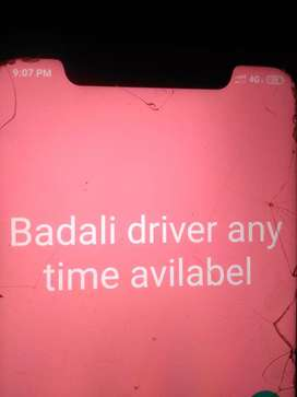 Badali driver any time available