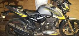 Apachi RTR200CC  CONDITION IS GOOD AND FULL INSURANCE  IN BIKE