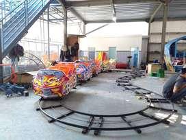 Kereta mini Coaster roller coaster Odong rel bawah lantai Supernova