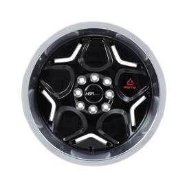 velg hsr wheel myth04 ring 16x7/8 h8(100/114,3) black polish